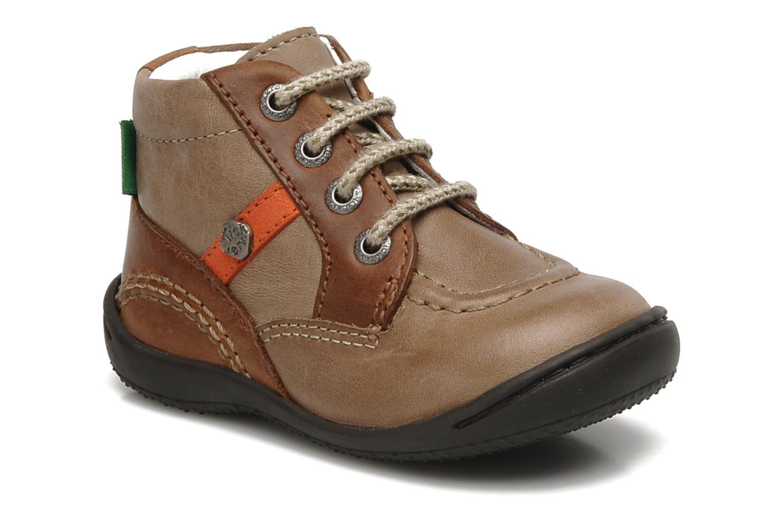 Bottines et boots Kickers GUGUS Beige vue détail/paire