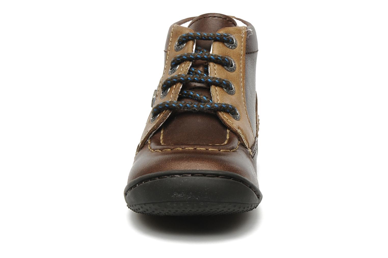 Bottines et boots Kickers GUGUS Marron vue portées chaussures