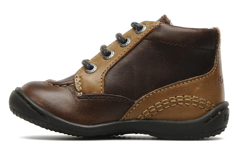 Bottines et boots Kickers GUGUS Marron vue face