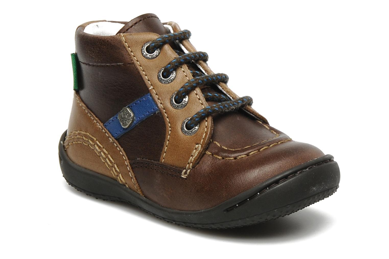 Bottines et boots Kickers GUGUS Marron vue détail/paire