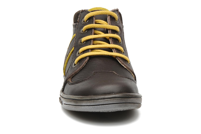 Bottines et boots Kickers TRANSISTOR Marron vue portées chaussures
