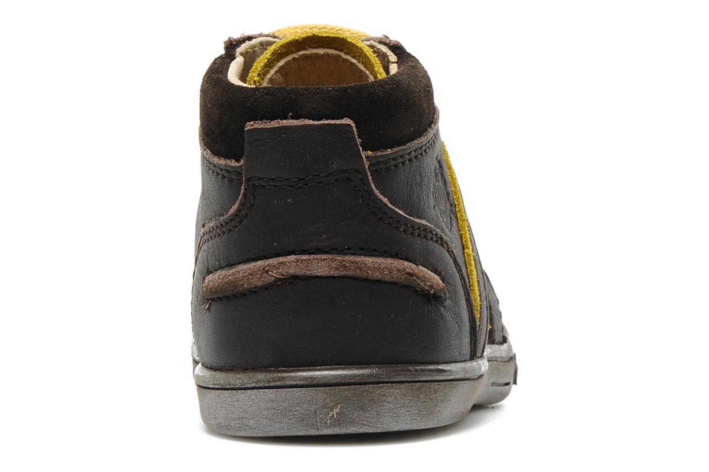Bottines et boots Kickers TRANSISTOR Marron vue droite