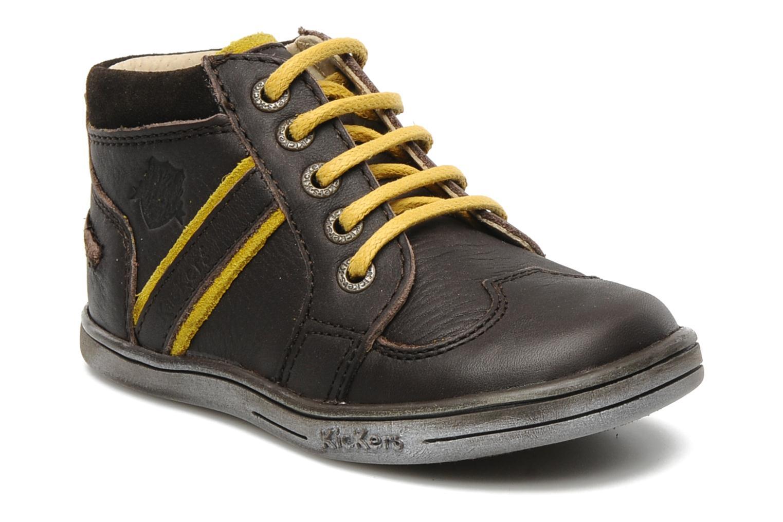 Bottines et boots Kickers TRANSISTOR Marron vue détail/paire