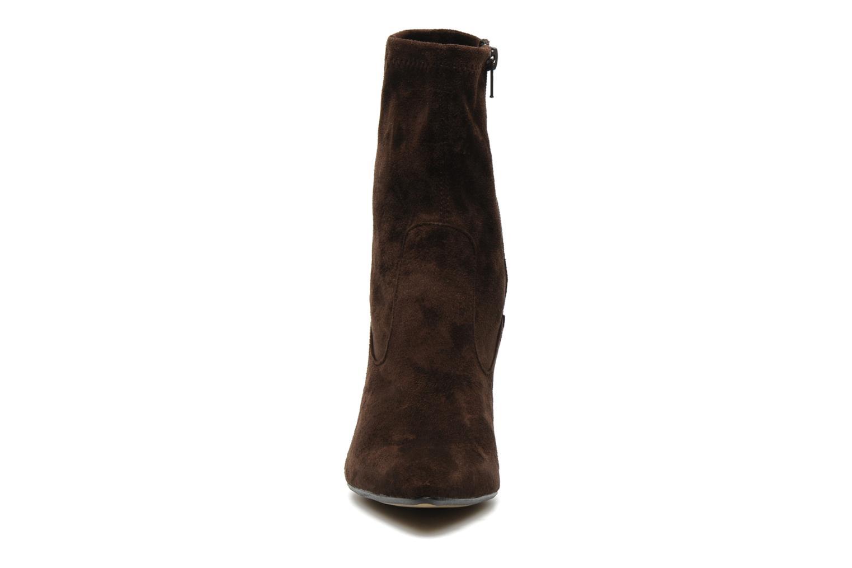 Bottines et boots Georgia Rose Hulaia stretch Marron vue portées chaussures