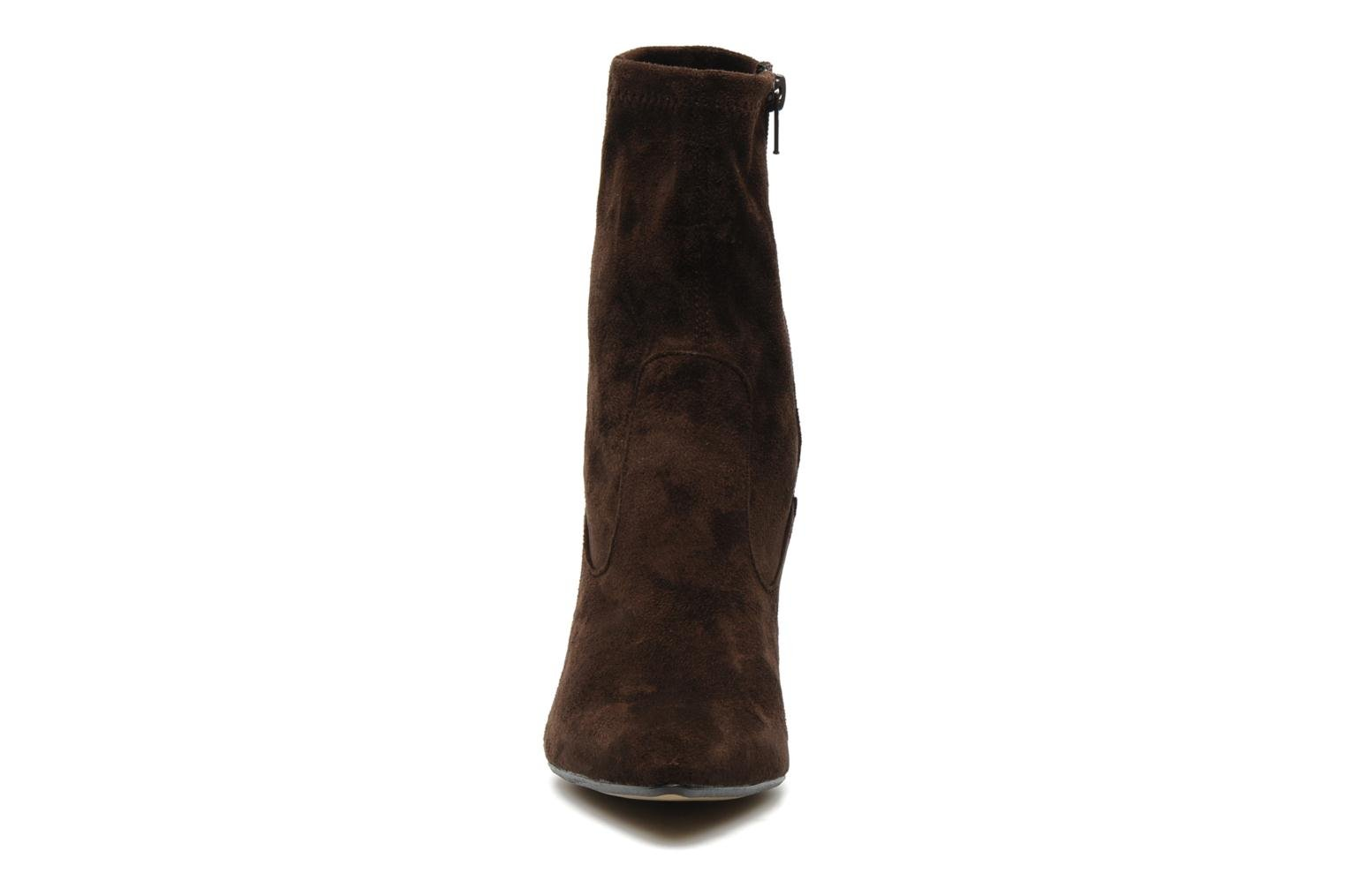 Ankle boots Georgia Rose Hulaia stretch Brown model view