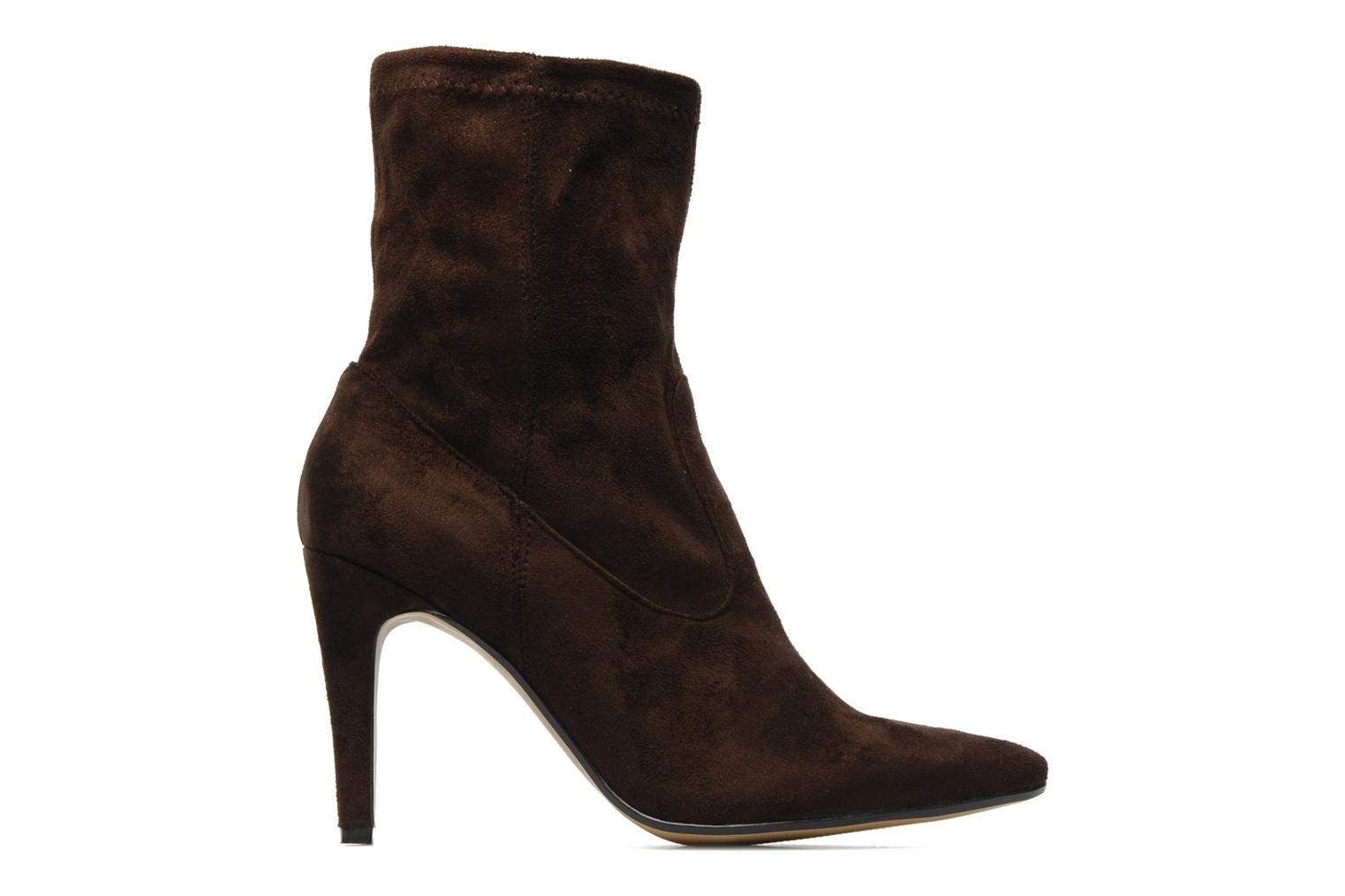 Ankle boots Georgia Rose Hulaia stretch Brown back view