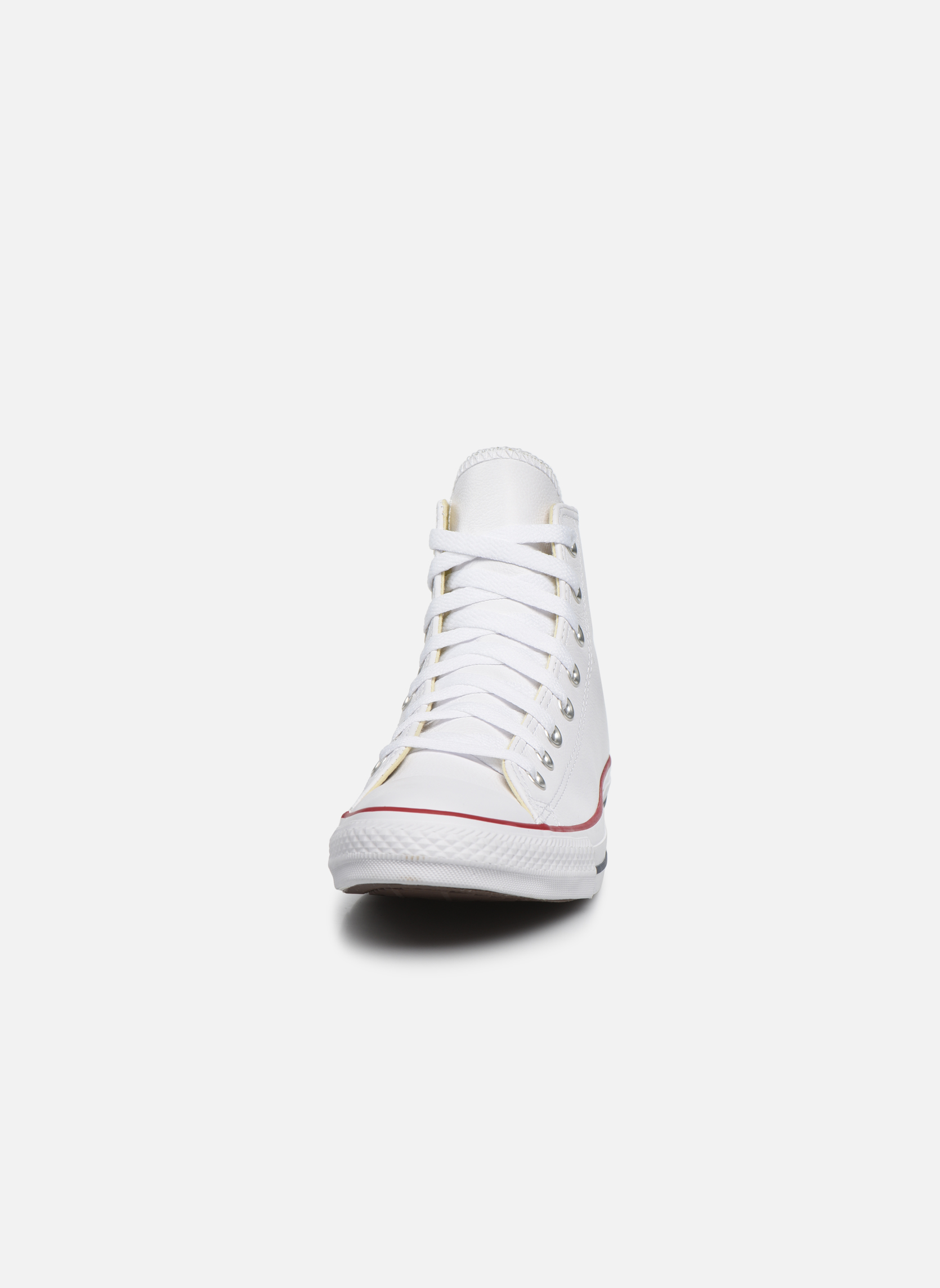 Sneakers Converse Chuck Taylor All Star Leather Hi M Vit bild av skorna på