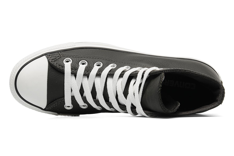 White Converse Chuck Taylor All Star Leather Hi M (Blanc)