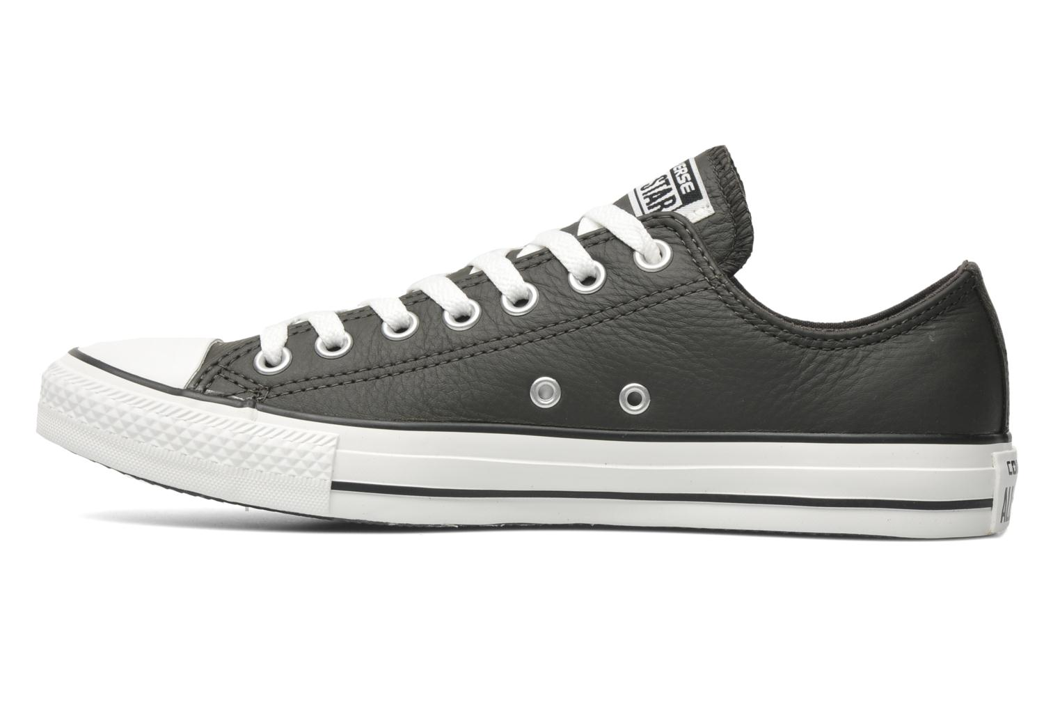 Trainers Converse Chuck Taylor All Star Leather Ox M Grey front view