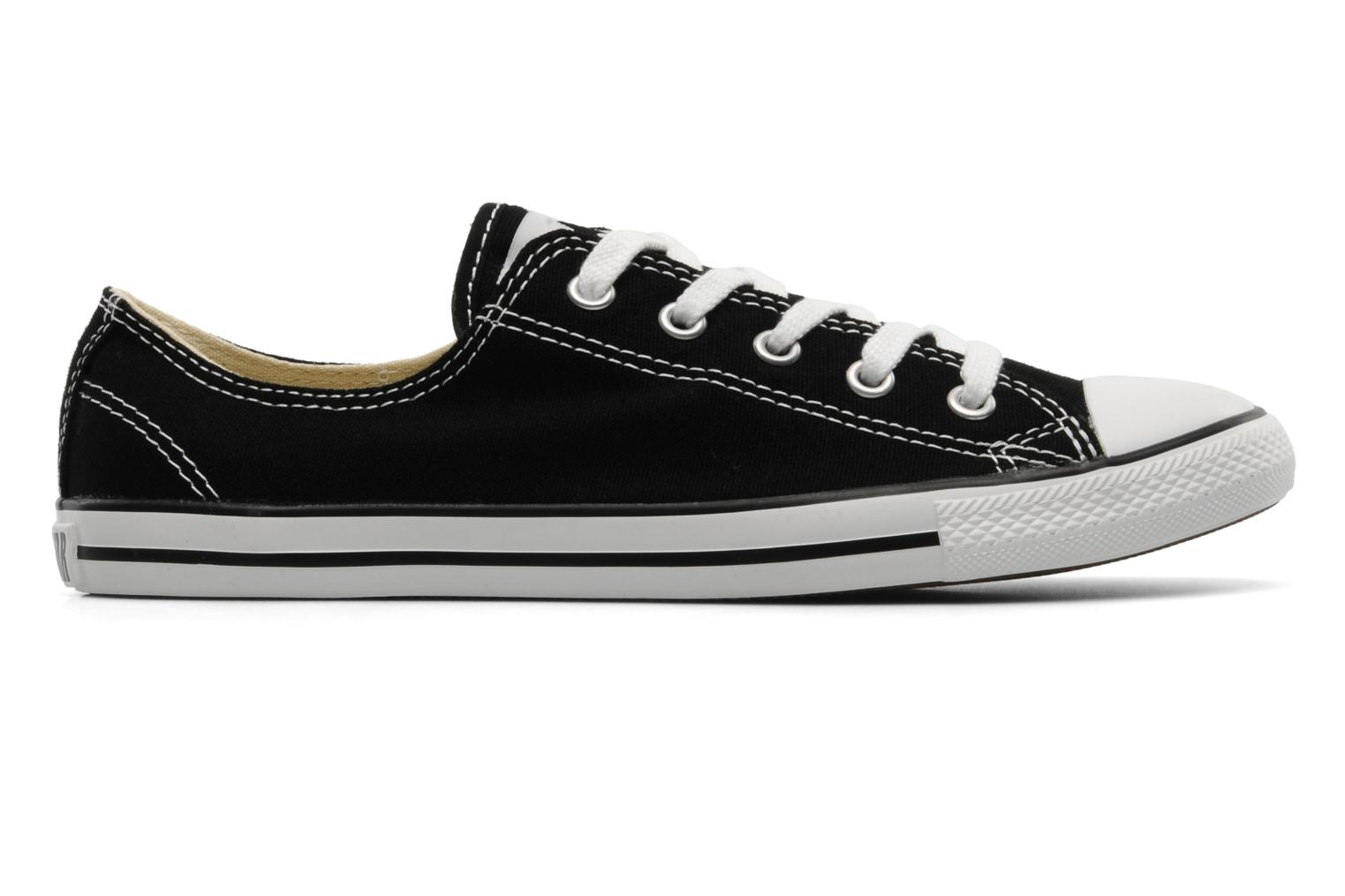 Trainers Converse All Star Dainty Canvas Ox Black back view