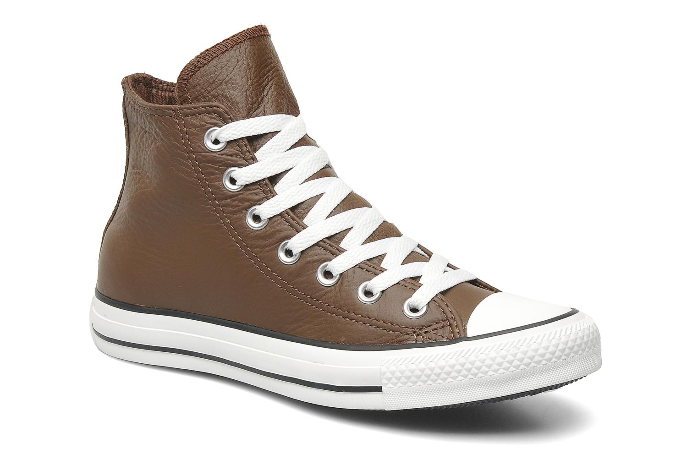 e48387f23806 Sneakers Converse Chuck Taylor All Star Leather Hi W Brun detaljeret  billede af skoene