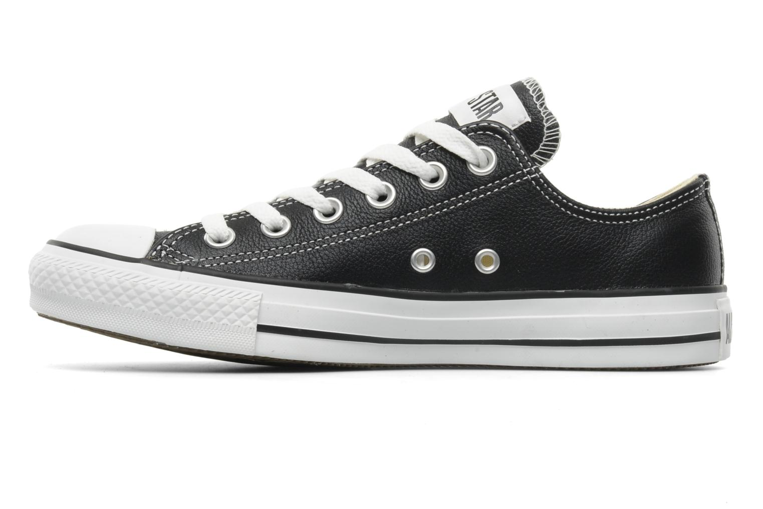 Sneakers Converse Chuck Taylor All Star Leather Ox W Sort se forfra