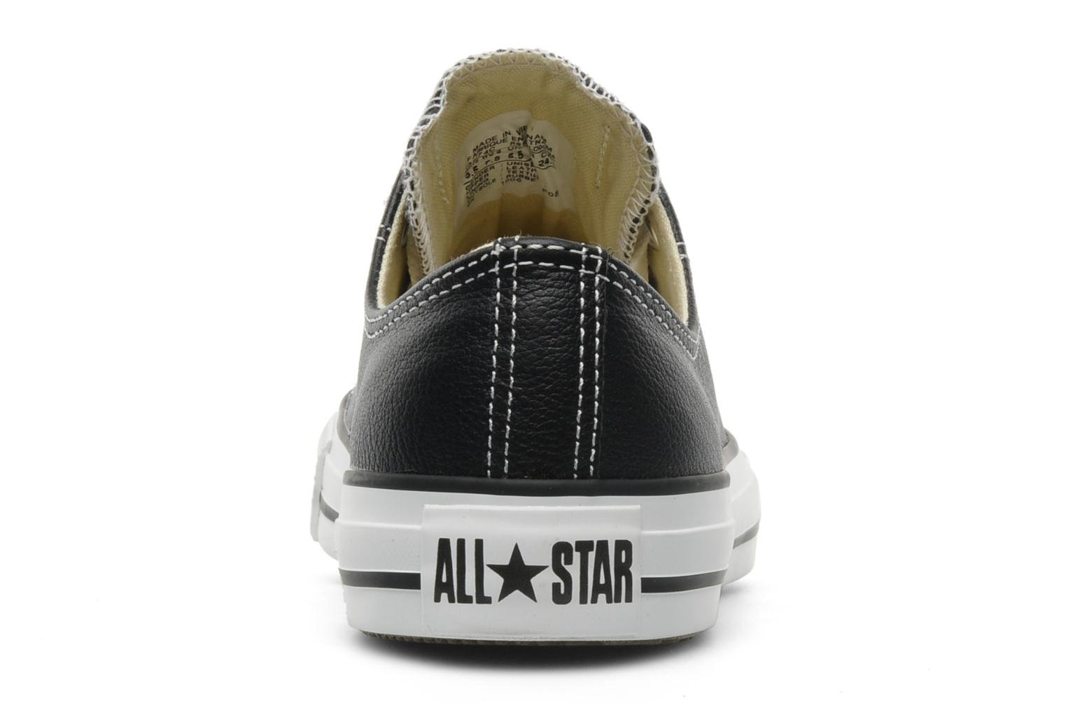 Chuck Taylor All Star Leather Ox W Noir