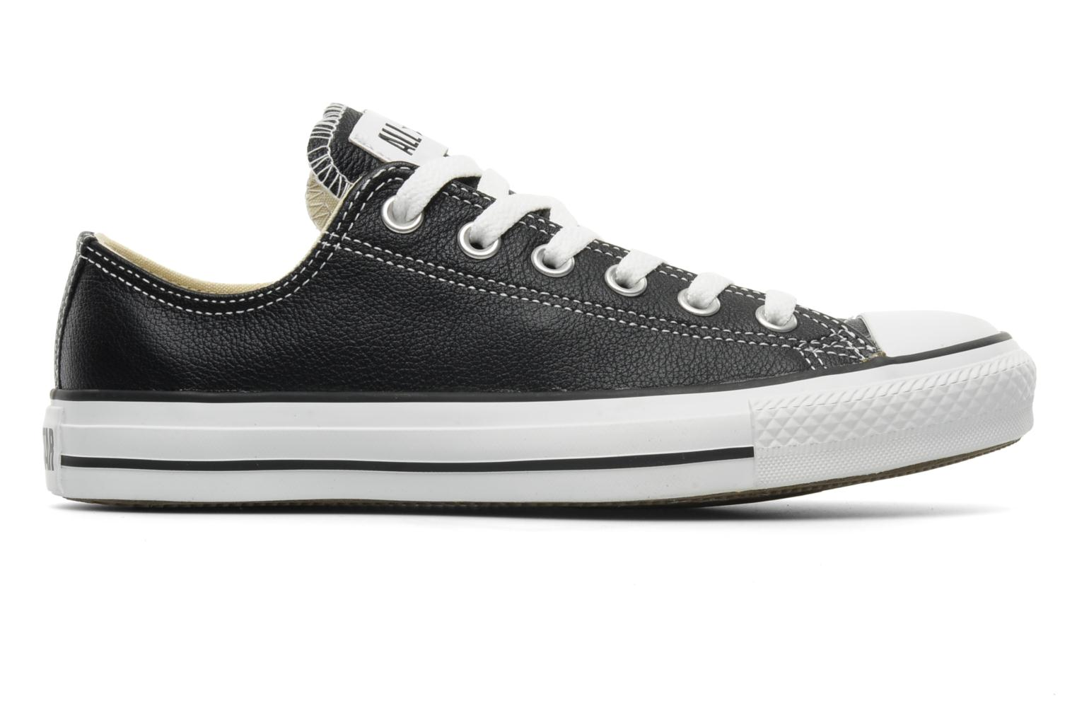 Sneakers Converse Chuck Taylor All Star Leather Ox W Sort se bagfra
