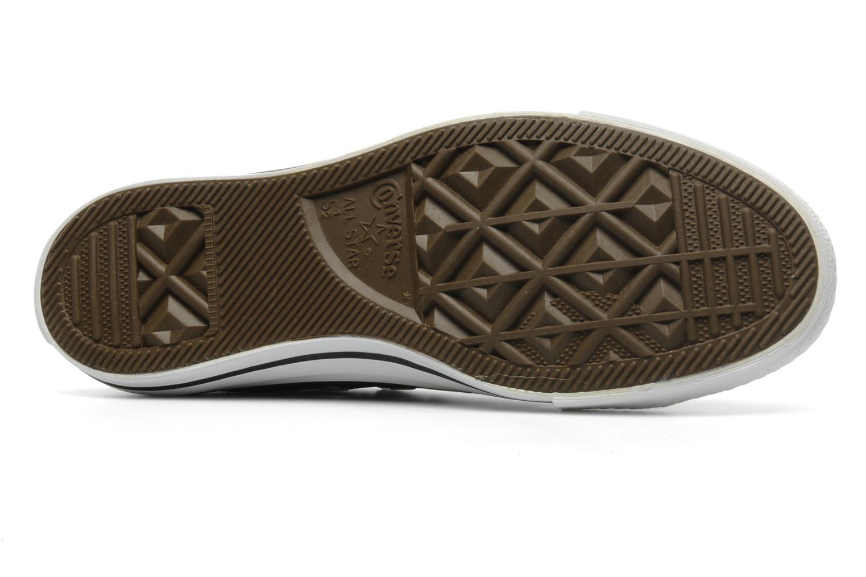 Sneakers Converse Chuck Taylor All Star Leather Ox W Svart bild från ovan