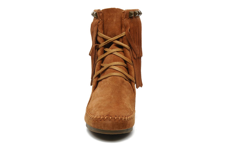Bottines et boots Ash Santa Fe Marron vue portées chaussures