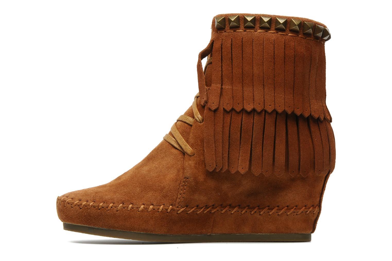 Bottines et boots Ash Santa Fe Marron vue face