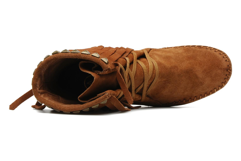 Bottines et boots Ash Santa Fe Marron vue gauche