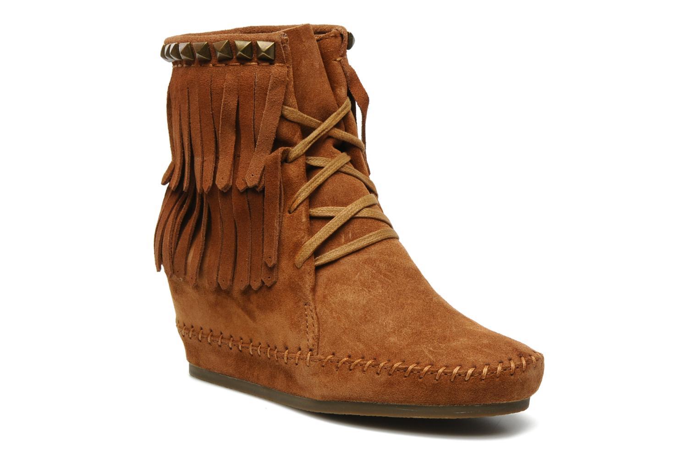 Bottines et boots Ash Santa Fe Marron vue détail/paire