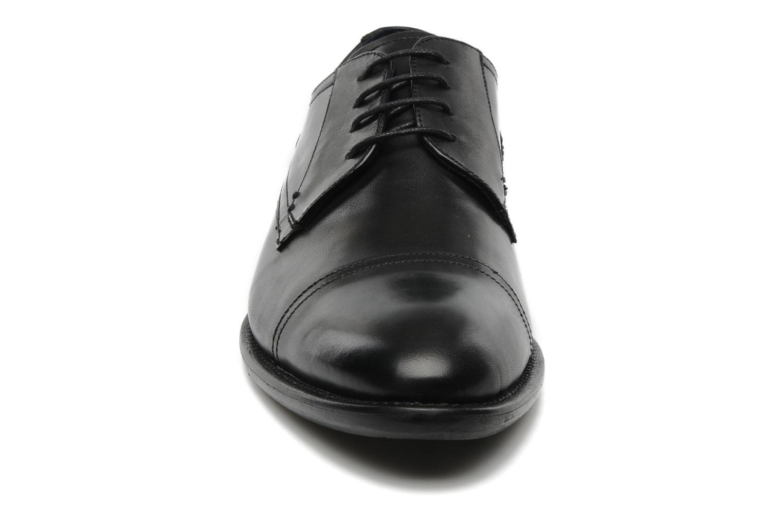 Schnürschuhe Marvin&Co Thepia schwarz schuhe getragen