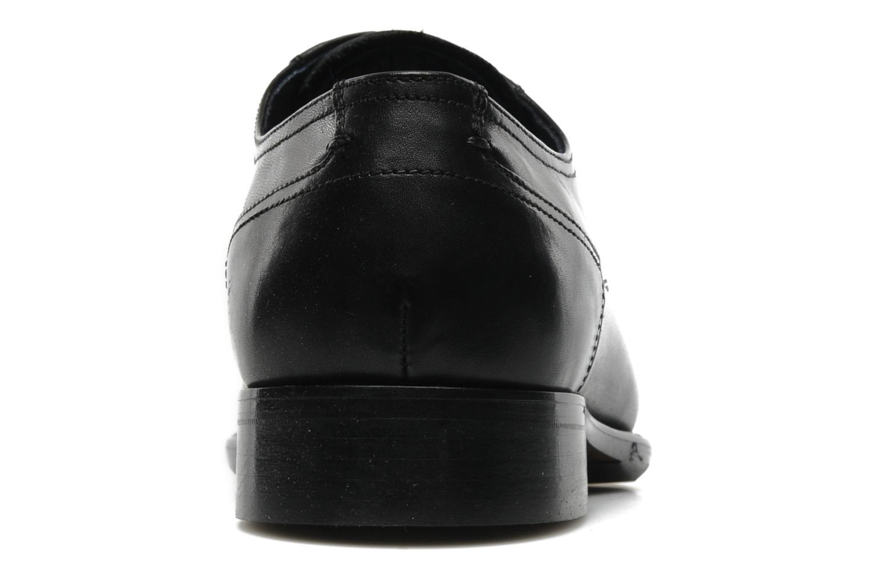 Scarpe con lacci Marvin&Co Thepia Nero immagine destra