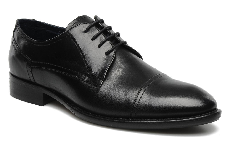 Chaussures à lacets Marvin&Co Thepia Noir vue détail/paire