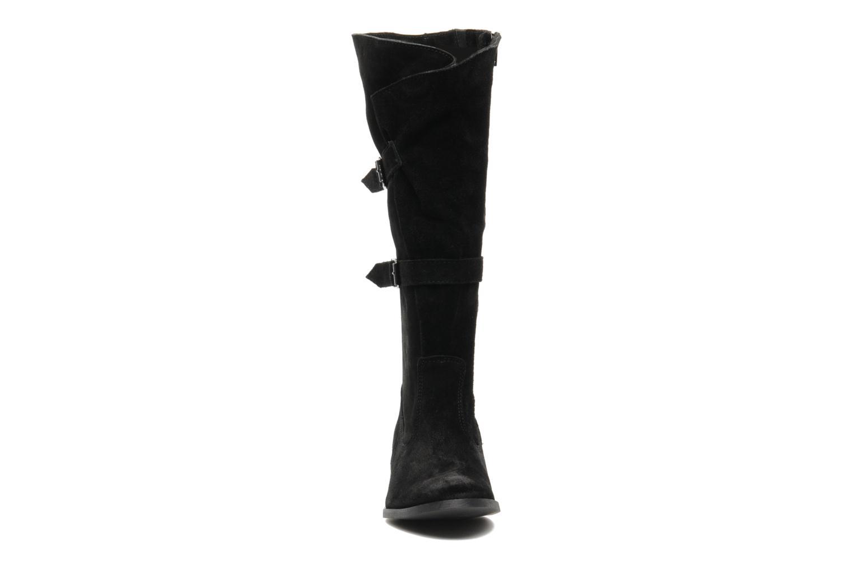 Bottes Arima pour Elle Fidelia velours Noir vue portées chaussures