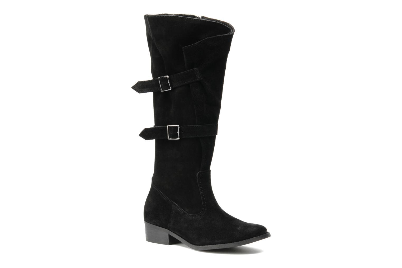 Støvler & gummistøvler Arima pour Elle Fidelia velours Sort detaljeret billede af skoene