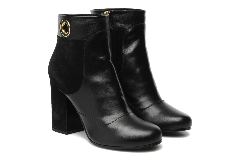 Bottines et boots Vicini Pluina Noir vue 3/4
