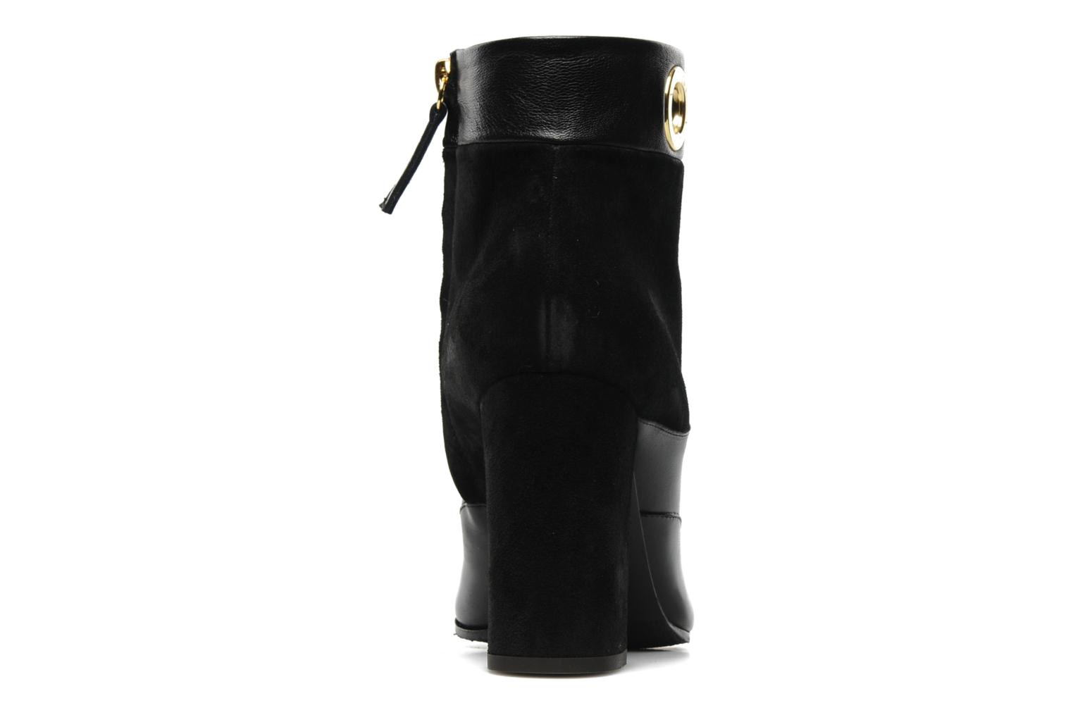 Ankle boots Vicini Pluina Black view from the right