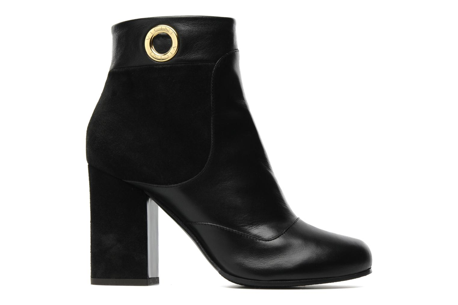Ankle boots Vicini Pluina Black back view