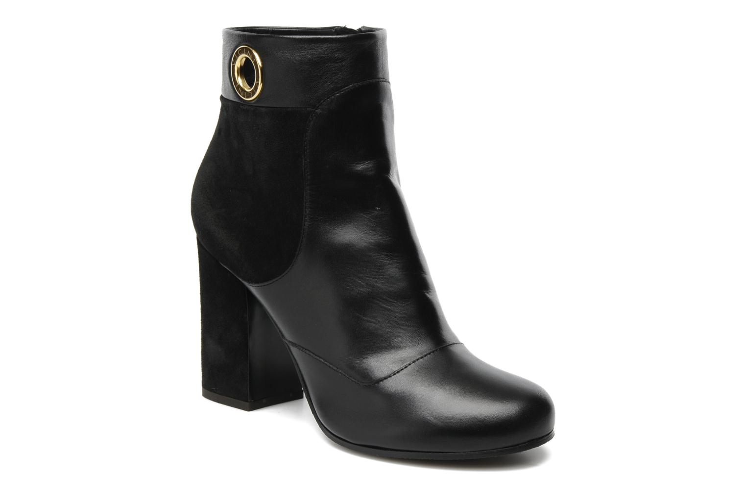 Ankle boots Vicini Pluina Black detailed view/ Pair view