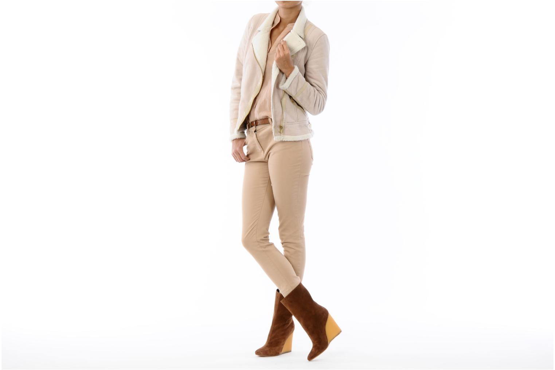 Bottines et boots Vicini Nina Marron vue bas / vue portée sac