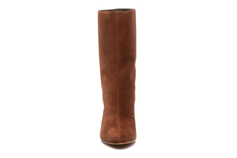 Bottines et boots Vicini Nina Marron vue portées chaussures