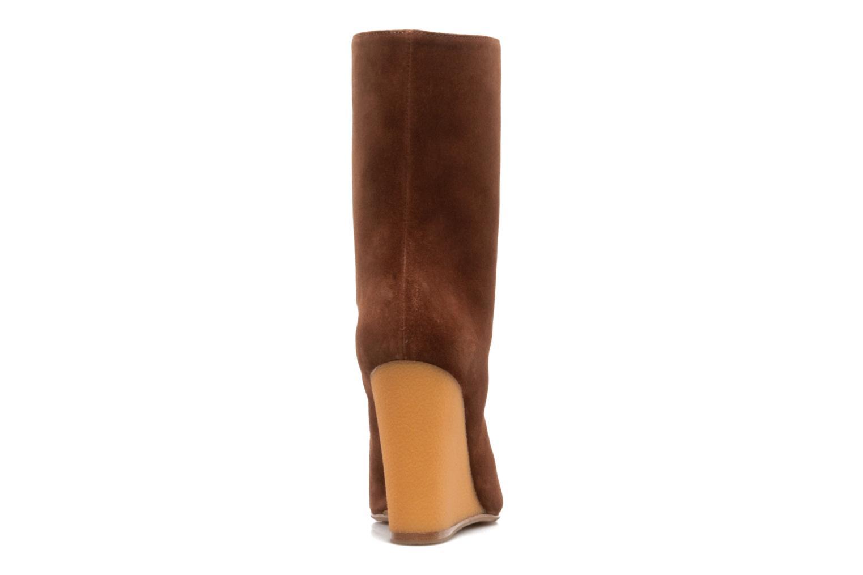 Bottines et boots Vicini Nina Marron vue droite