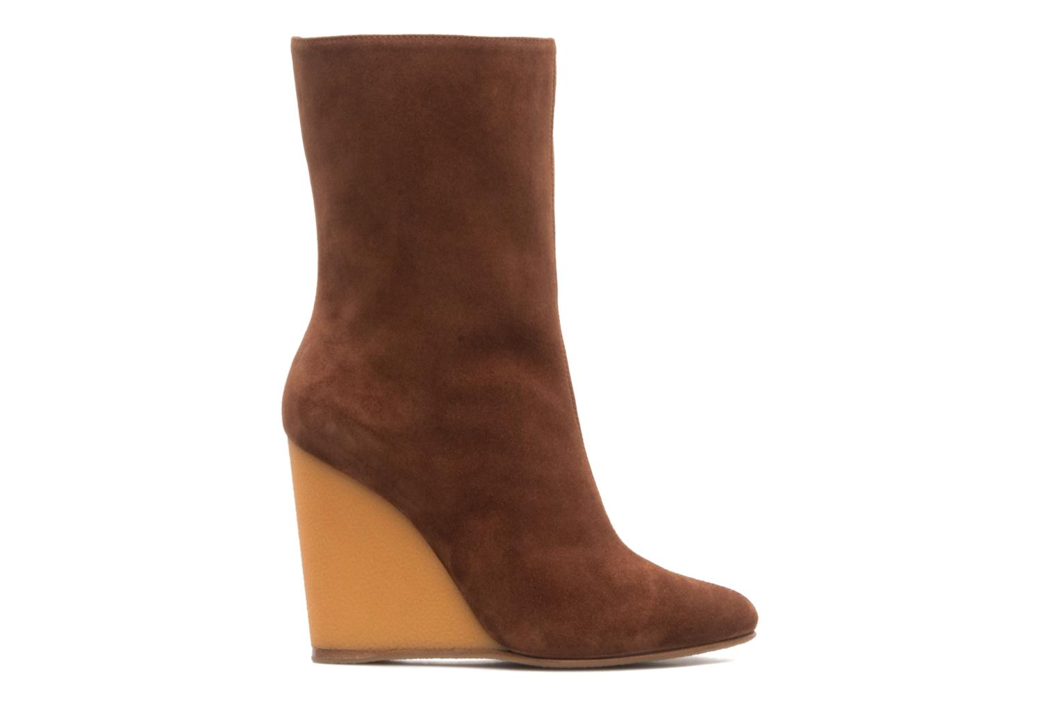 Ankle boots Vicini Nina Brown back view