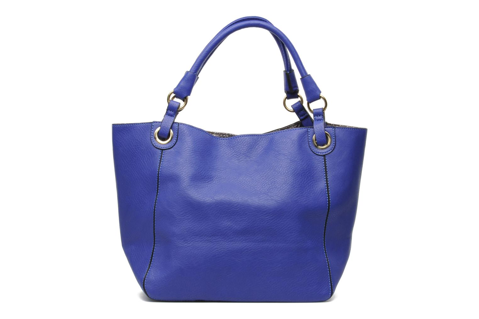 Handbags Georgia Rose Barnabé Blue front view