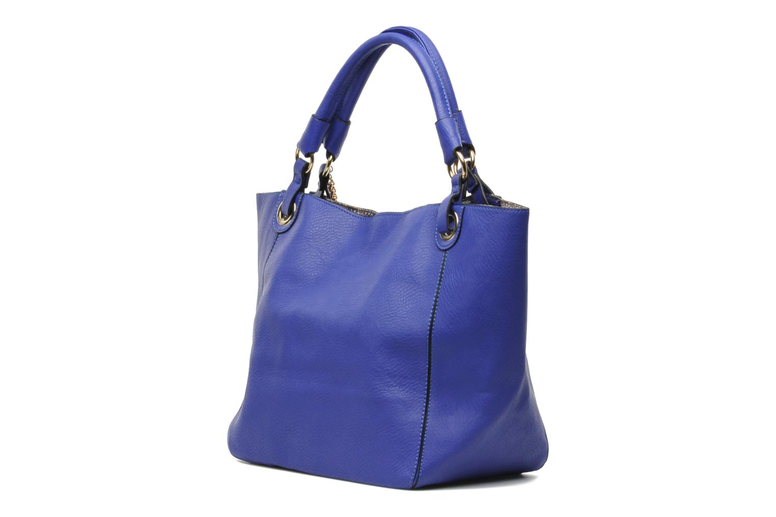 Handbags Georgia Rose Barnabé Blue view from the right