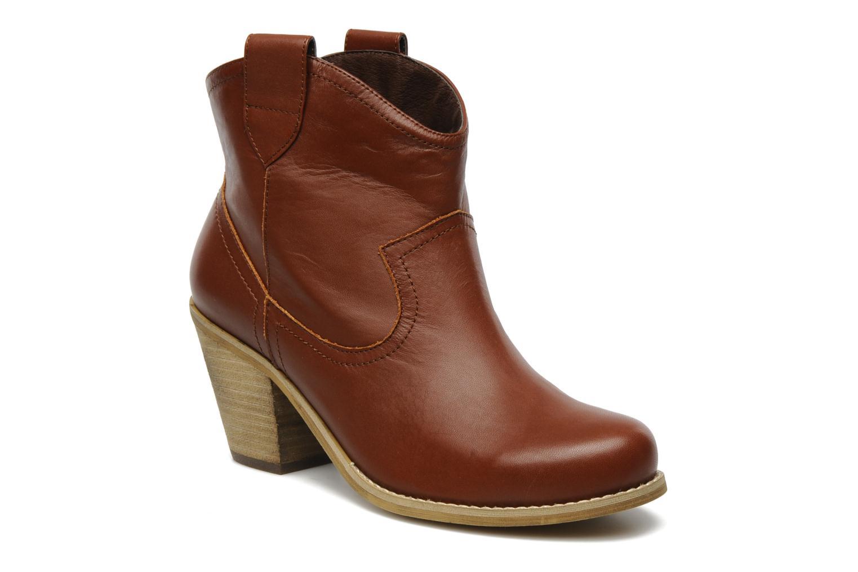 Bottines et boots Xti Tristo Marron vue détail/paire