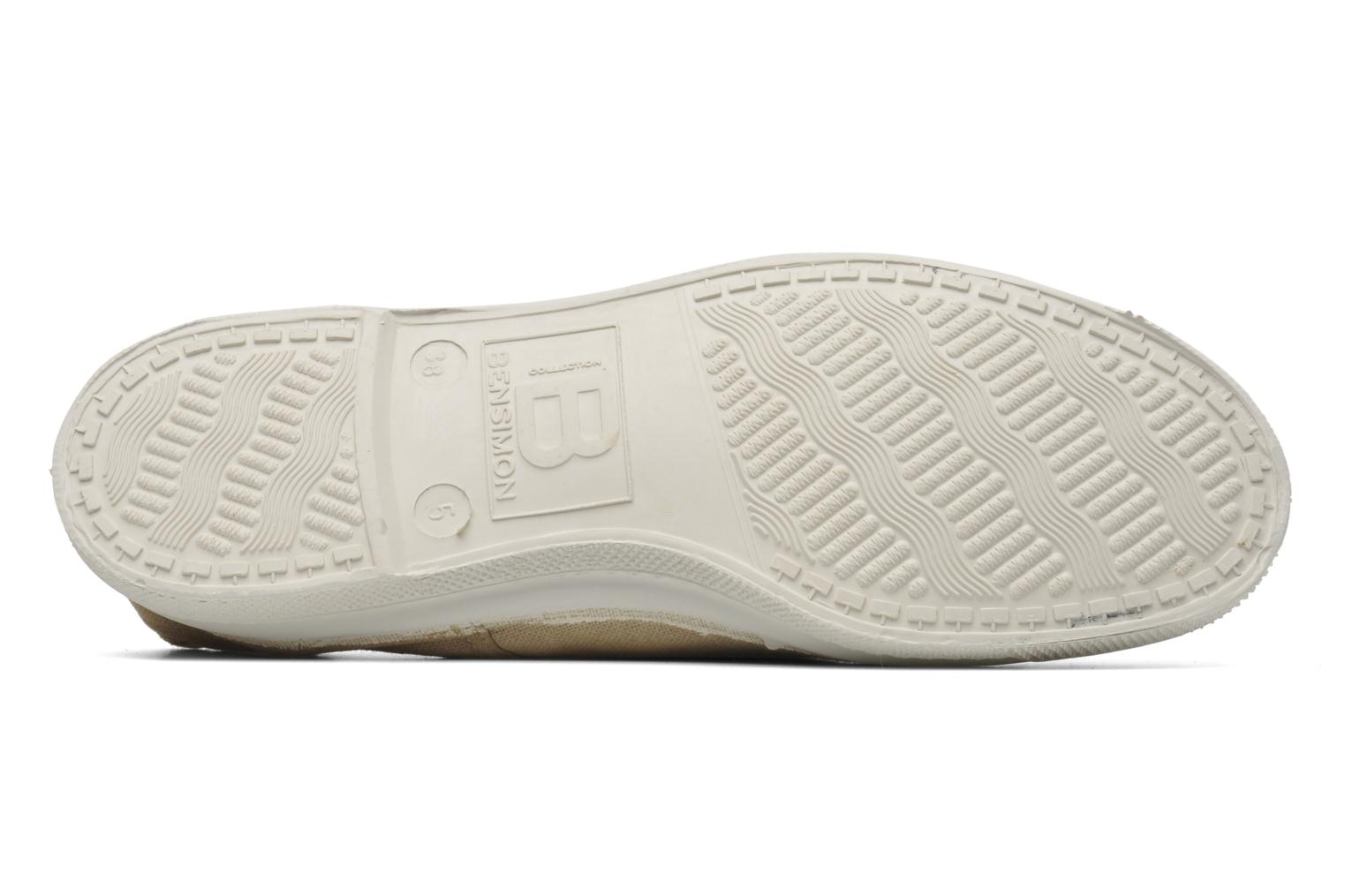 Trainers Bensimon Tennis Elly Beige view from above
