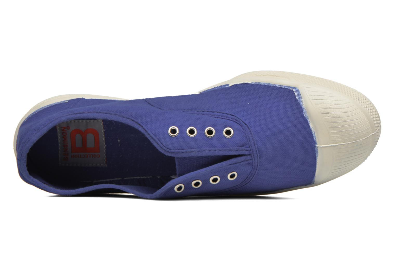 Trainers Bensimon Tennis Elly Blue view from the left