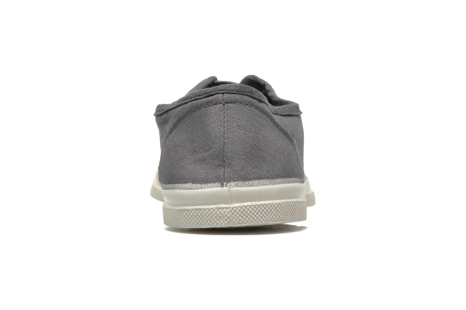 Trainers Bensimon Tennis Elly Grey back view