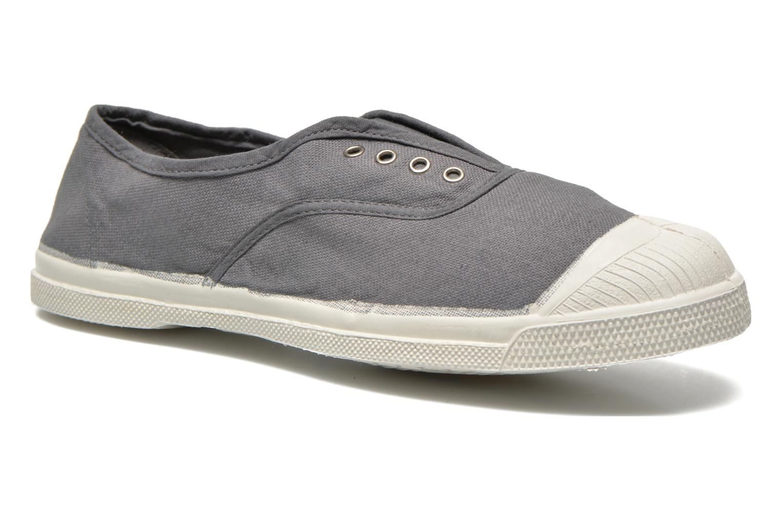 Trainers Bensimon Tennis Elly Grey detailed view/ Pair view