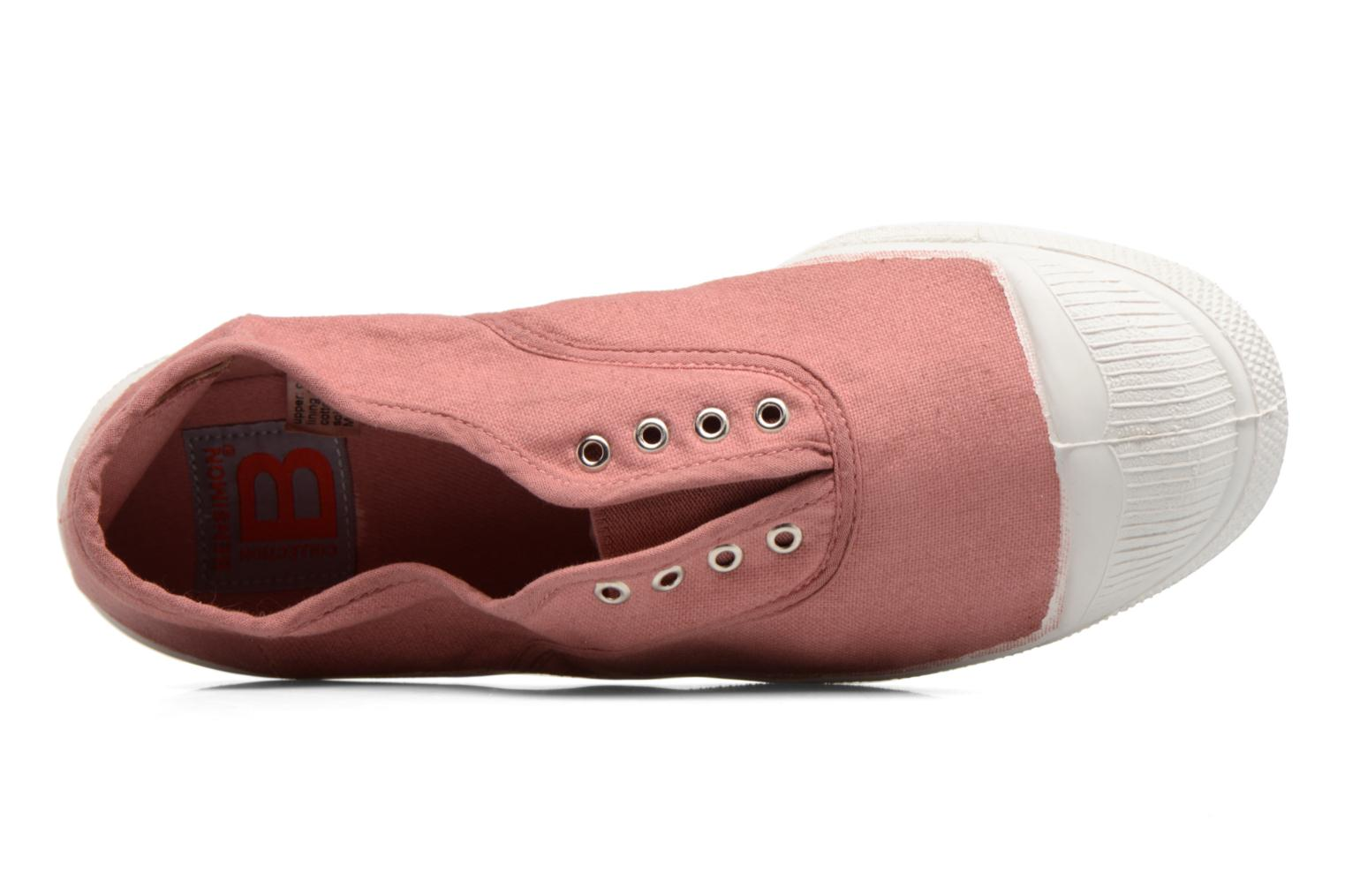 Trainers Bensimon Tennis Elly Pink view from the left