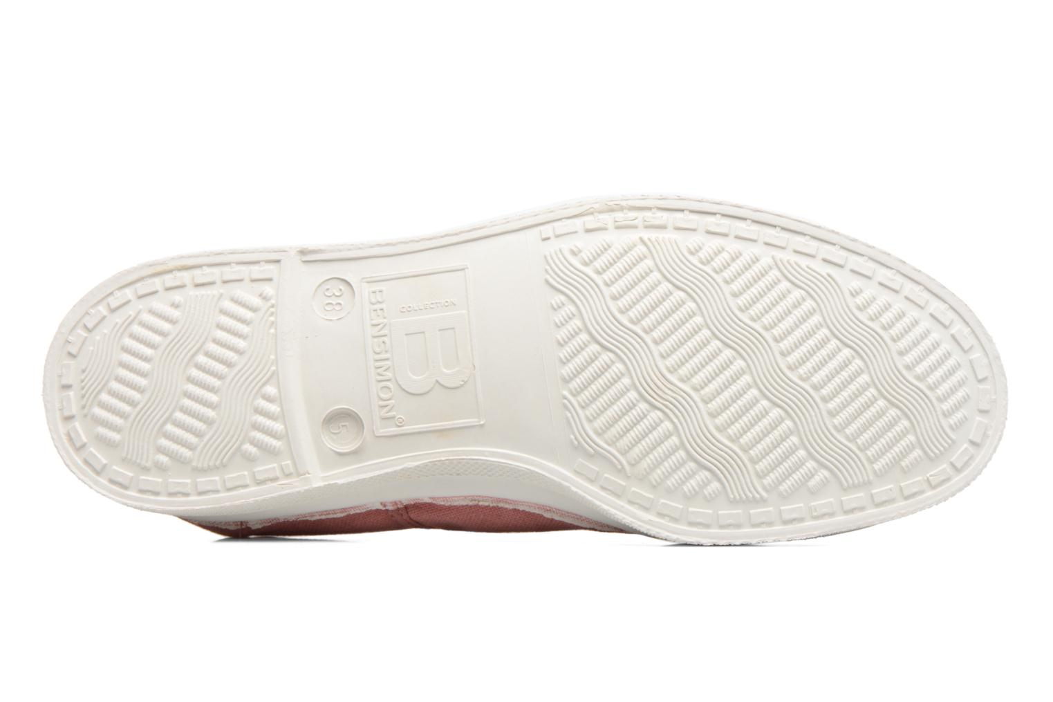 Trainers Bensimon Tennis Elly Pink view from above