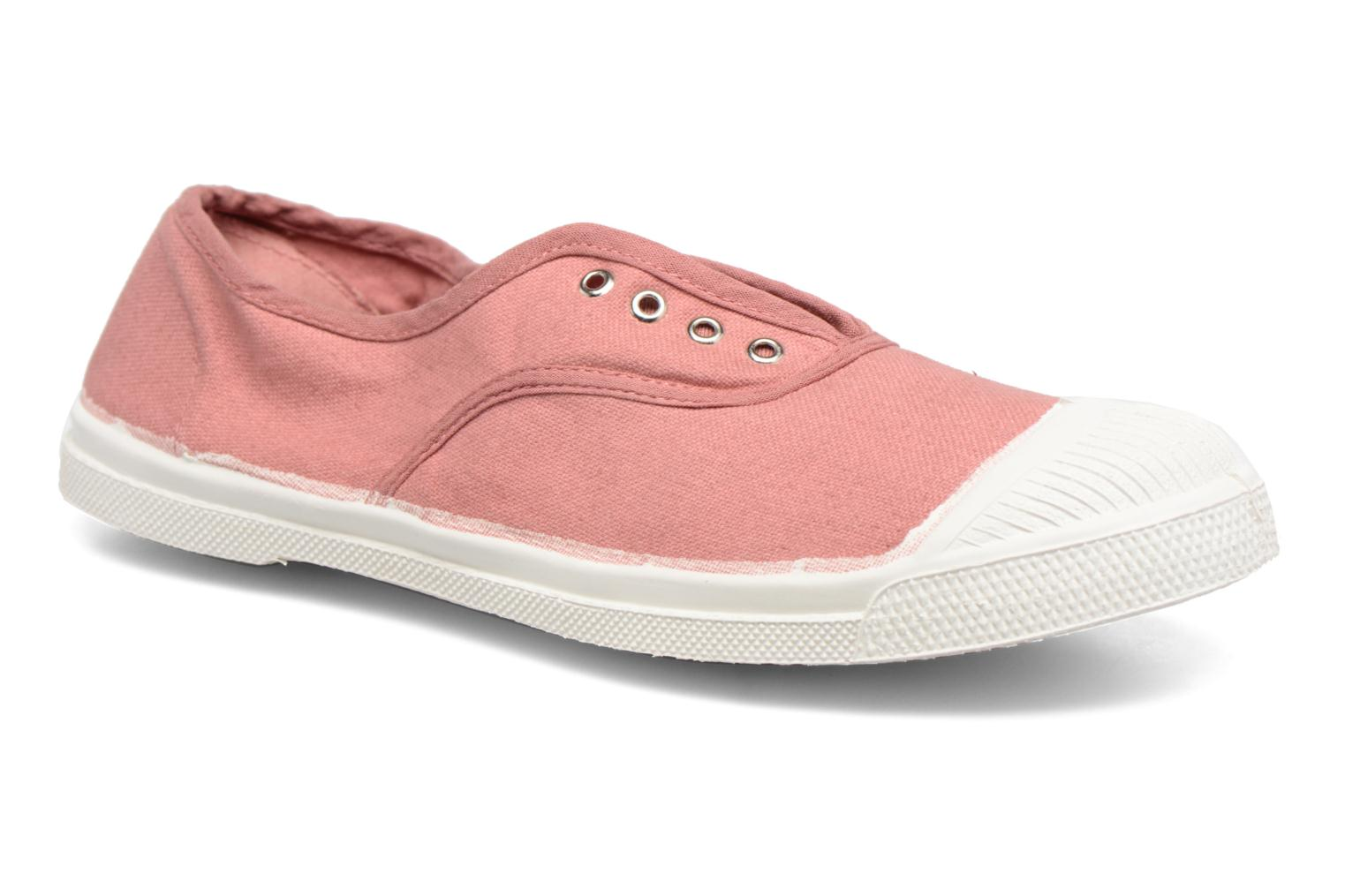 Trainers Bensimon Tennis Elly Pink detailed view/ Pair view