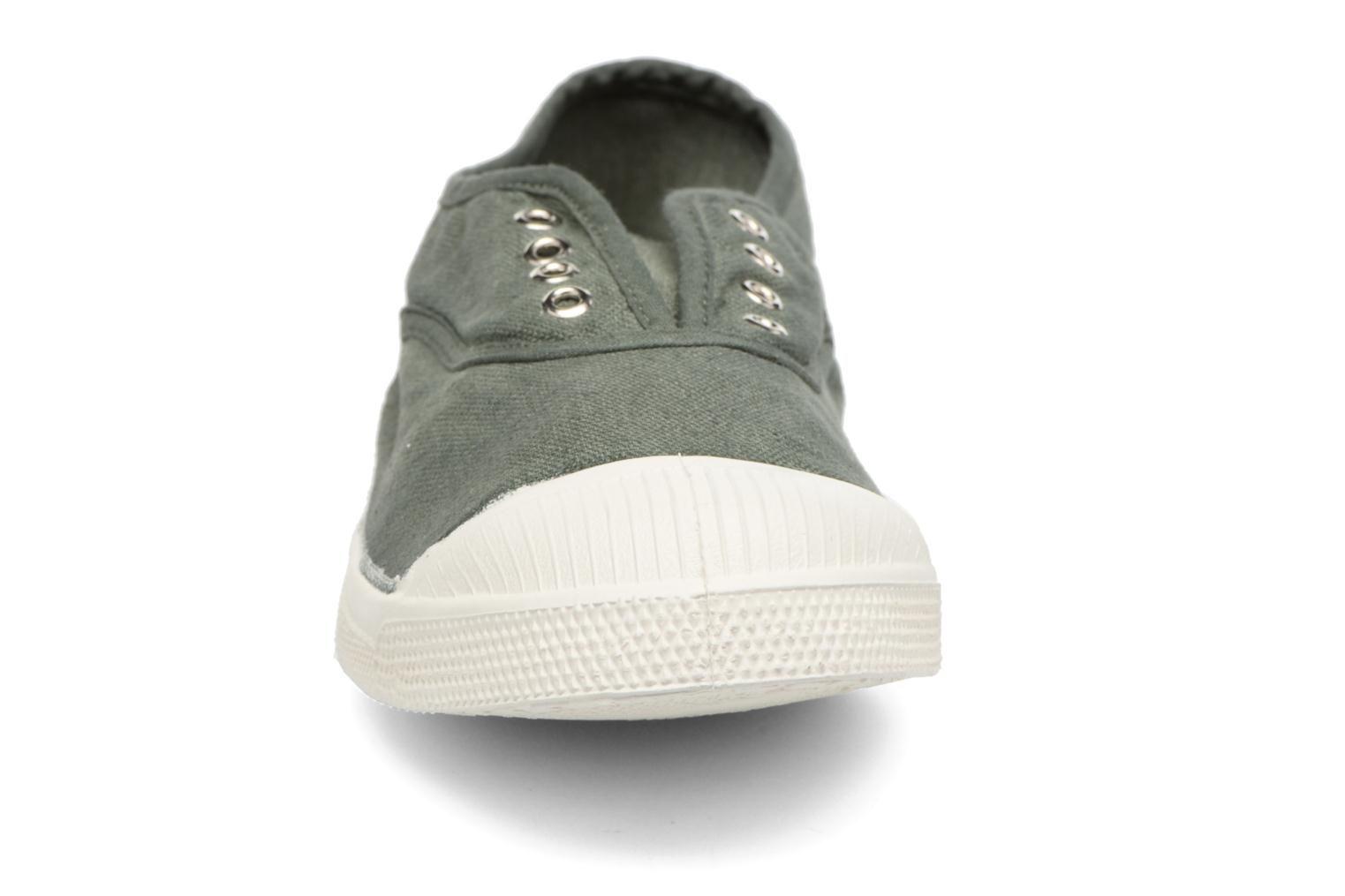 Trainers Bensimon Tennis Elly Green model view