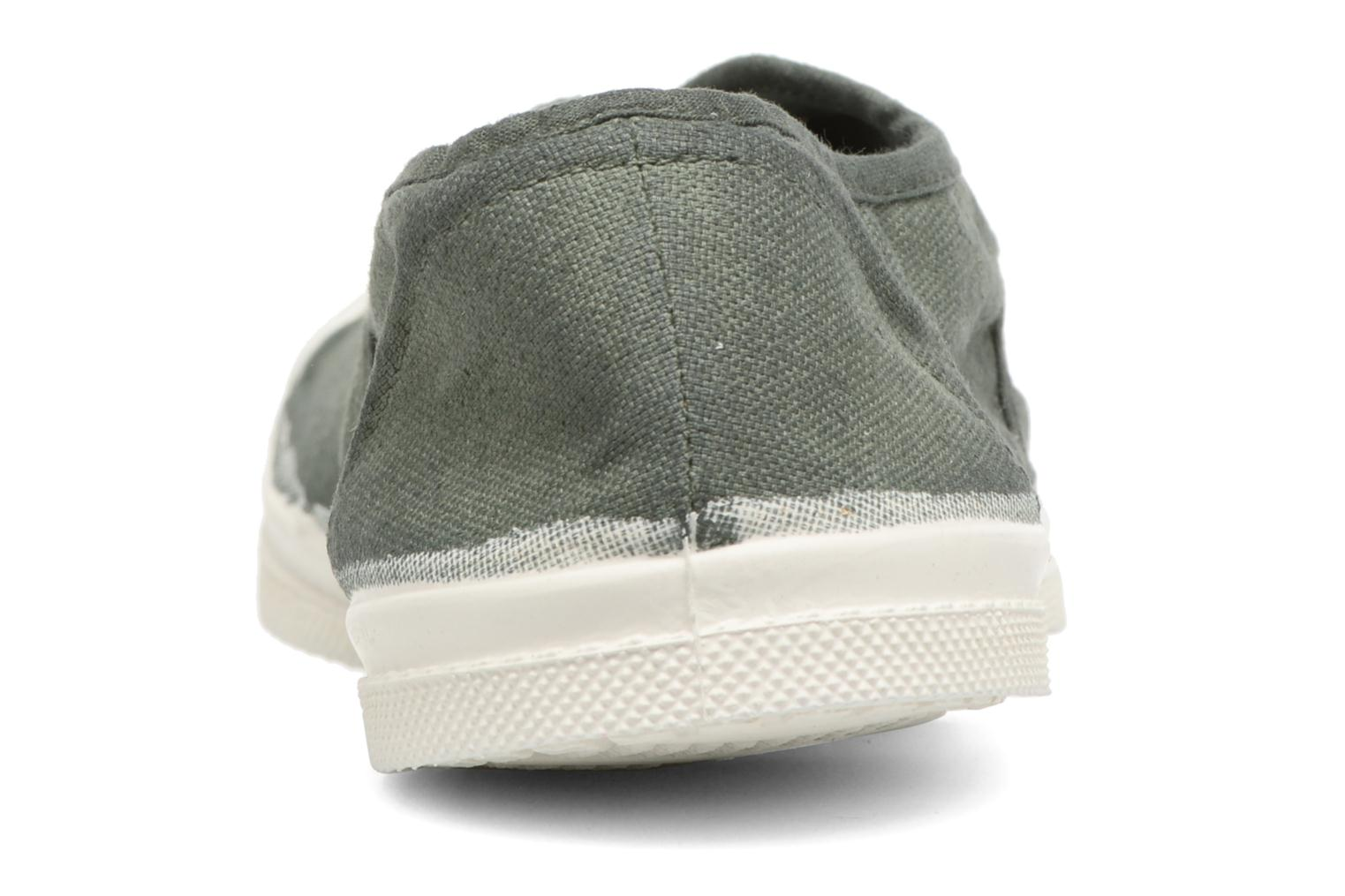 Trainers Bensimon Tennis Elly Green view from the right