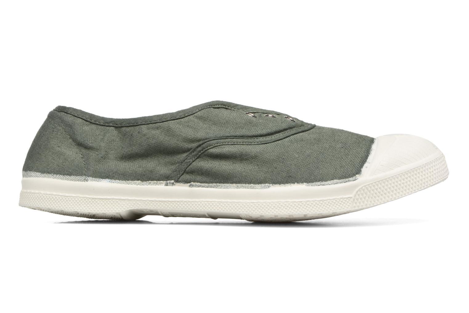 Trainers Bensimon Tennis Elly Green back view