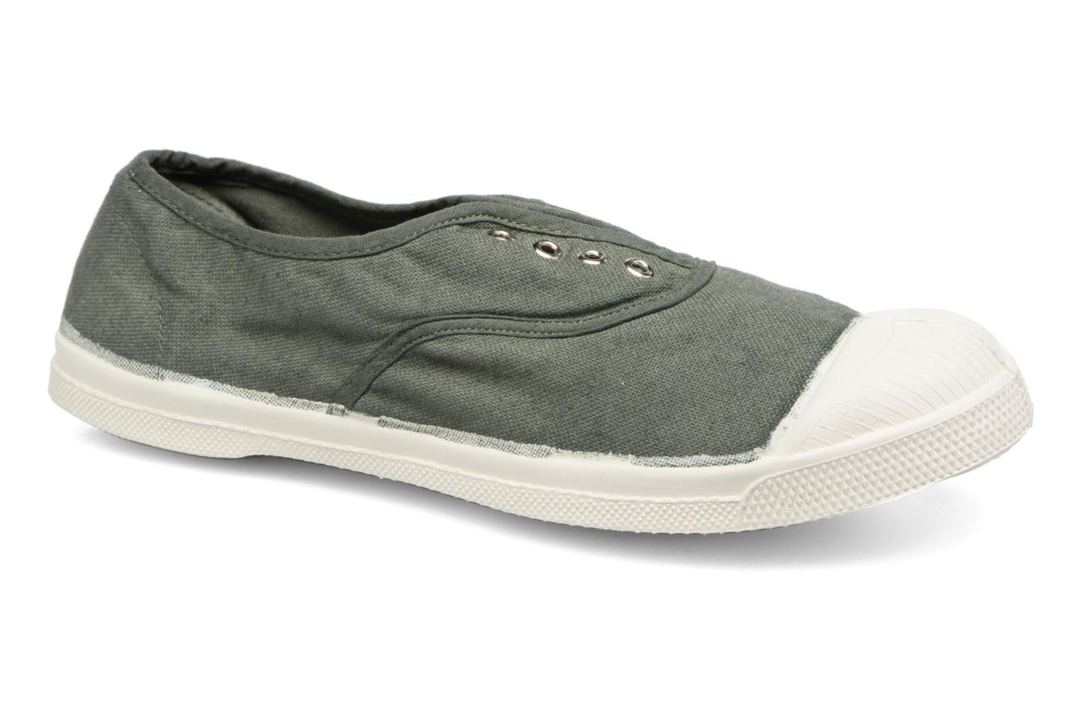 Trainers Bensimon Tennis Elly Green detailed view/ Pair view